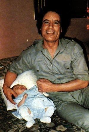 фото дочь каддафи
